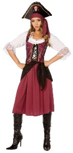 Pirate Wench Adult Costume Size 14-16 Large