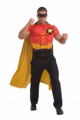 Robin-Muscle-Chest-Top-with-Cap-and-Mask-Multi-X-Large-0