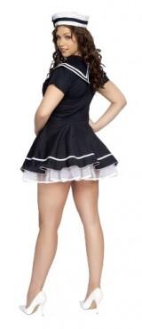 Roma-Costume-2-Piece-Pin-Up-Captain-As-Shown-Navy-Blue-MediumLarge-0-2