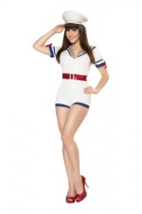 Roma-Costume-2-Piece-Playful-Pinup-Captain-As-Shown-White-Small-0-1