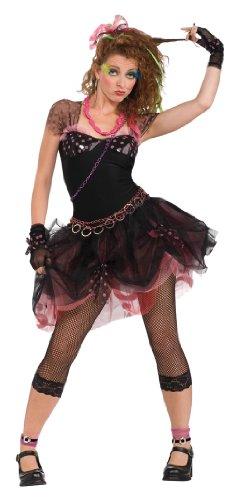 Rubie's Costume 80'S Diva, Black, Standard Costume