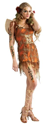 Rubie's Costume Adult Harvest Moon Fairy Costume, Orange, Standard