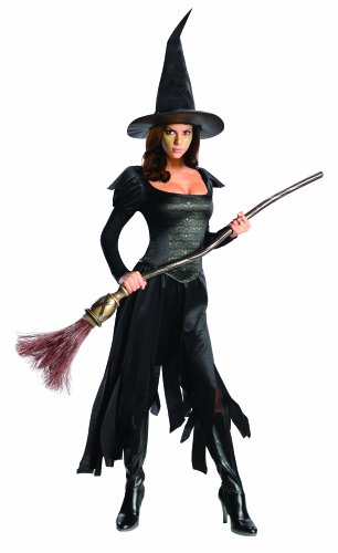 Rubie's Costume Disney's Oz The Great and Powerful Wicked Witch Of The West Dress and Hat, Black, Teen