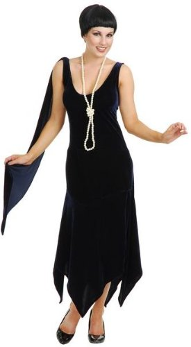Sandy Speak Easy 1920s Flapper Costume (Large)