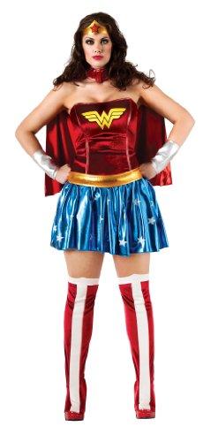 Secret Wishes DC Comics Wonder Woman Plus Size Adult Costume