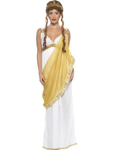 Smiffy's Helen Of Troy, White/Gold, Large