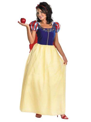 Snow White Theatre Costumes Princess Dress Disney Princess Costume Sizes: 1X