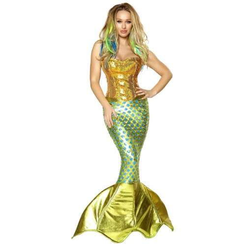 Womens Siren of the Sea Costume Large