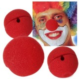 3-x-Red-Foam-Clown-Nose-Costume-Party-Fancy-Dress-Cosplay-0-0
