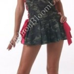 3Pc-Army-Cadet-Include-Hat-Shrug-And-Lace-Up-Side-Dress-GreenRedLarge-0-0