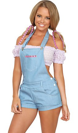 3WISHES Women's Sexy Country Gal Costume Made in USA