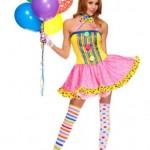 4-PC-Ladies-Circus-Cutie-Clown-Dress-Costume-SmallMedium-Multicolors-0