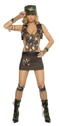 4Pc. Major Hottie Costume