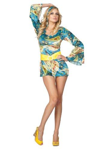 60's Ottasight Dress Adult Costume Size 1X-2X (16-18)