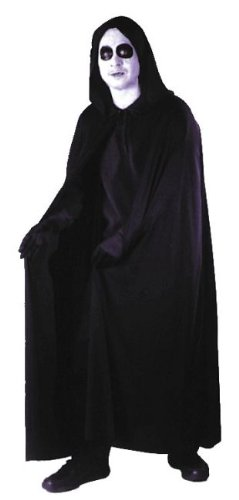 68″ Velvet Hooded Cape Costume Accessory