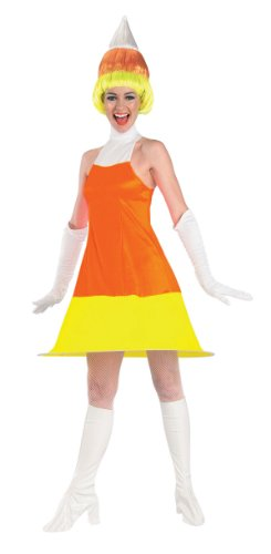 Adult Candy Corn Costume – Womens Std.