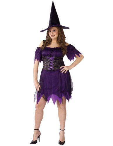 Adult-Costume Dark Witch Plus Size 16-24 Halloween Costume – Adult 16-24
