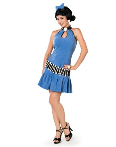 Adult Deluxe Betty Rubble Costume Small
