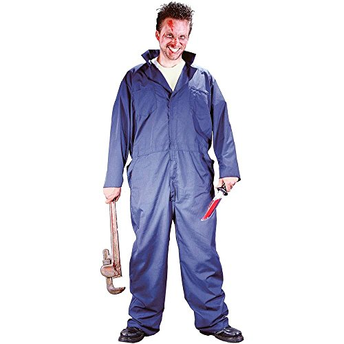 Adult Killer Mechanic Costume-One size fits most adults