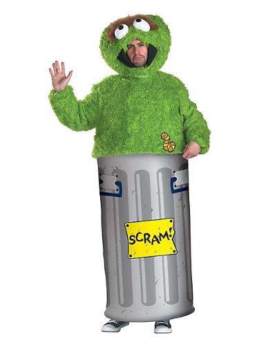 Adult Sesame Street Oscar the Grouch Costume