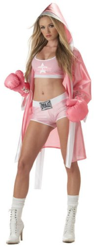Adult Sexy Everlast Boxer Costume (Sz:Large 10-12)