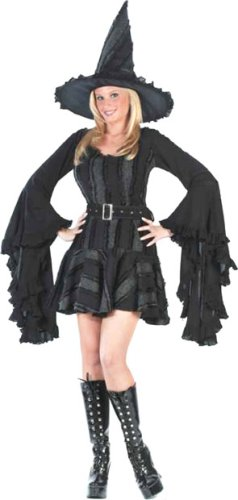 Adult Sexy Stitch Witch Costume (Size:Small 2-8)