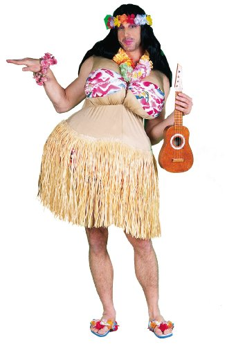 Adult Wanna Nookie Hula Costume