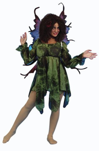 Adult Women's Green Forest Fairy Costume