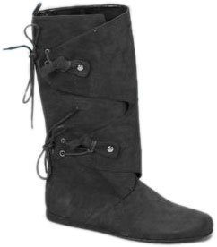 Adult Women's Pirate Costume Boots (Sz:Small 5-6)