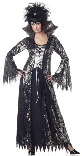 Adult Women's Spider Witch Costume (Sz:X-Lrg14-16)