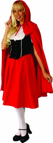 Alexanders Costumes Deluxe Red Riding Hood, Red, Small
