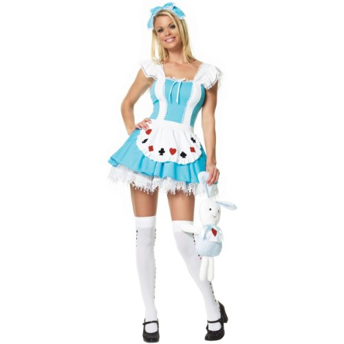 Alice in Wonderland Costume – Large – Dress Size 12-14