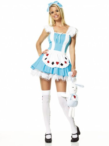 Alice in Wonderland Costume – X-Large – Dress Size 14-16