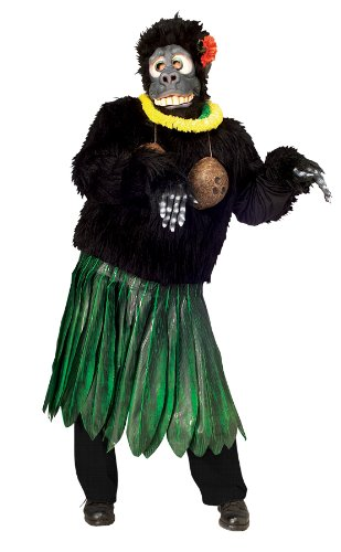 Aloha Gorilla Costume – Standard – Chest Size 40-44