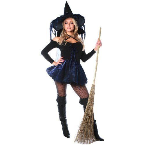 Amethyst Witch Costume – Small – Dress Size 4-6