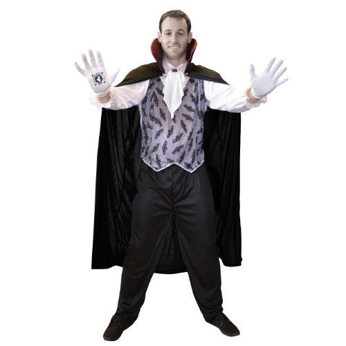 Batbursting Vampire Adult Costume