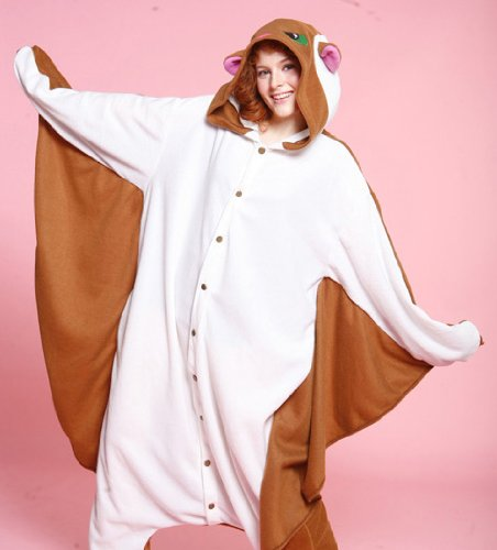 Bcozy-Flying-Squirrel-Body-Suit-Brown-Adult-One-size-0