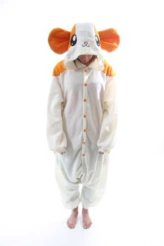 Bcozy Women's Hamster Z Adult Sized Costumes, Tan/White, Standard