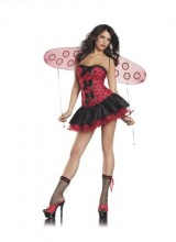 Be-Wicked-Costumes-Womens-Lil-Lady-Bug-Costume-RedBlack-SmallMedium-0