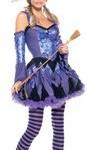 Be-Wicked-Gypsy-Witch-Costume-PurpleBlue-MediumLarge-0