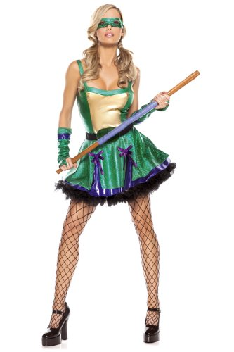 Be Wicked Gypsy Witch Costume, Purple/Blue, Small/Medium