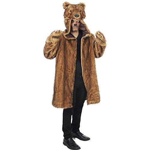 Bear Coat Adult Costume