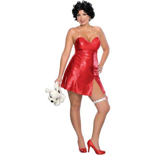 Betty Boop Costume – Plus Size – Dress Size 14-16