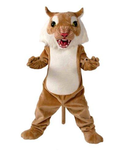 Big Cat Wildcat Mascot Costume