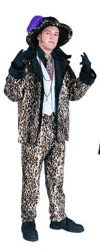 Big Daddy Leopard Suit Costume