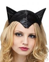 Black-Cat-Ears-Headband-Tail-Set-0