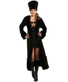 Black Russian Womens Costume – Standard