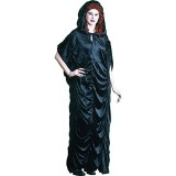 Black-Velvet-Hooded-Robe-0