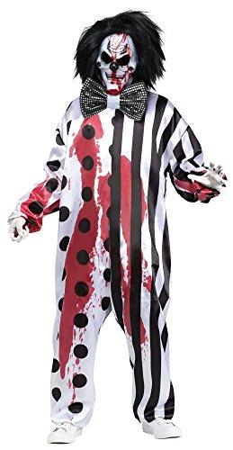 Bleeding Adult Clown Mask Costume