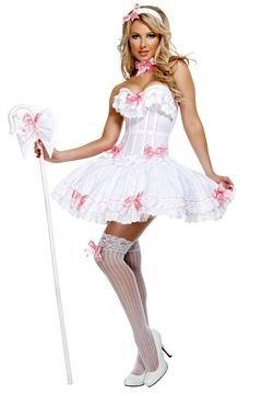 Bo Peep Carousel Costume Medium